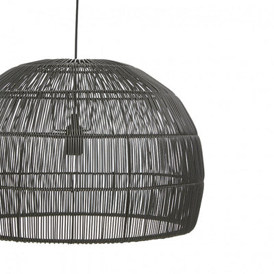 Marina Dome Ceiling Pendant in Black