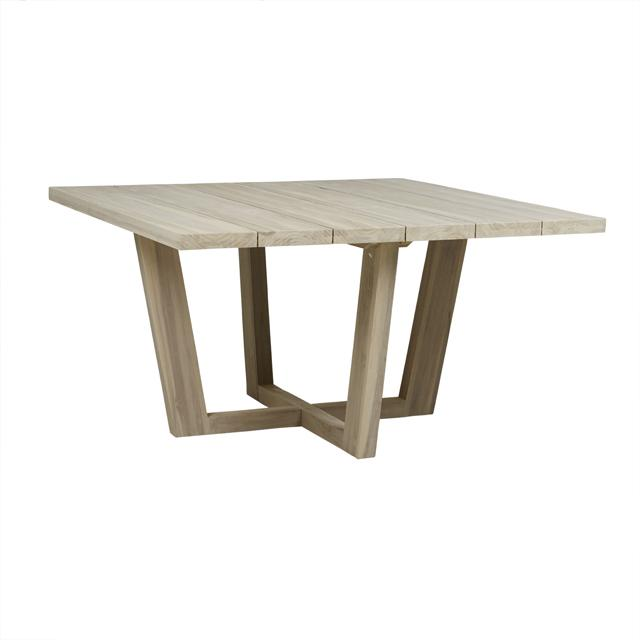 Marina Square Cross Dining Table