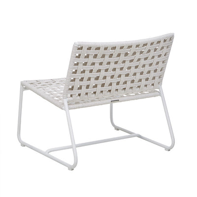 Globewest Marina Square Occasional Chair in Chalk