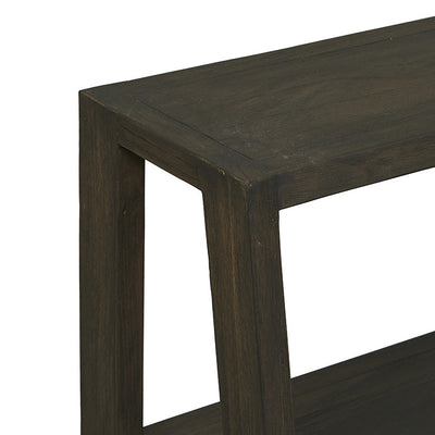 Globewest Mauritius Low Shelf in Ebony