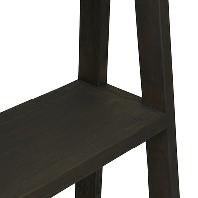 Globewest Mauritius Tall Shelf in Ebony