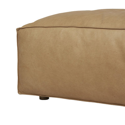 Miller Left Open End Sofa in Camel