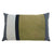 Mondrian Stripe Rectangle Cushion Khaki