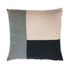 Mondrian Block Square Cushion Nude
