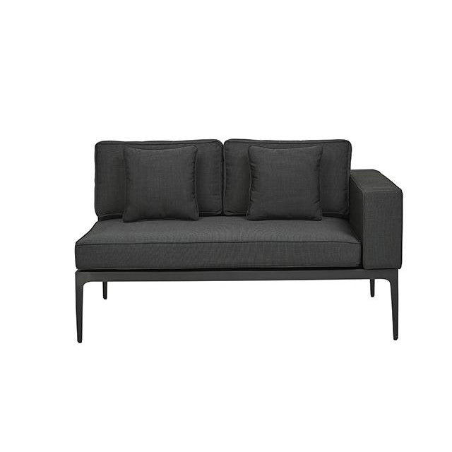 Montego 2 Seat Right Arm Sofa in Anthracite/Charcoal