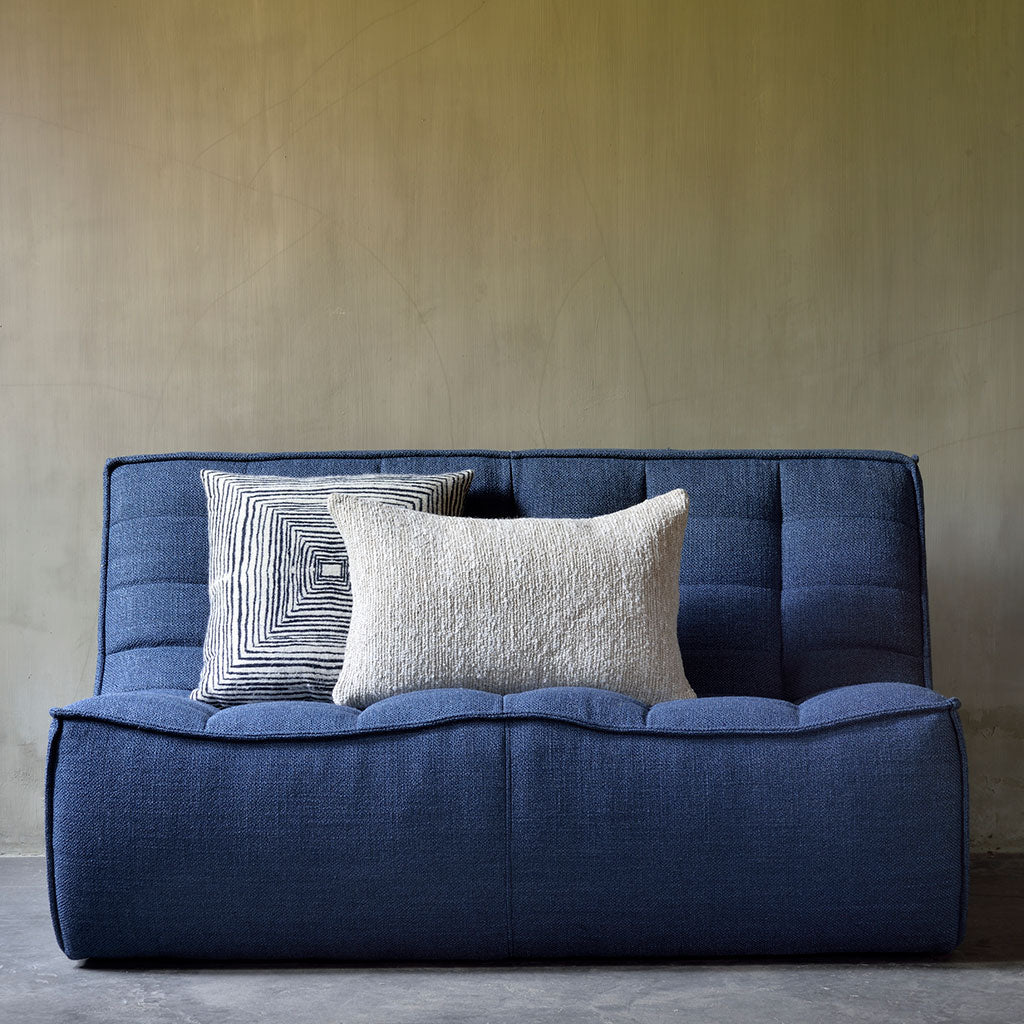 Ethnicraft N701 2 Seater Sofa in Blue