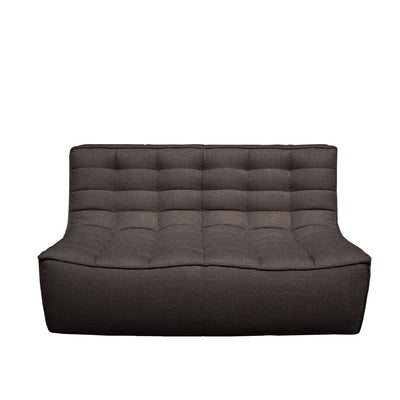 Ethnicraft N701 2 Seater Sofa in Dark Grey