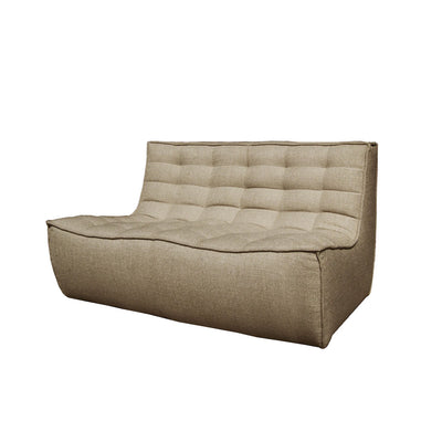 Ethnicraft N701 2 Seater Sofa in Dark Beige