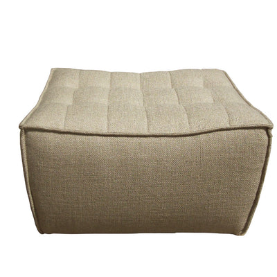 Ethnicraft N701 Footstool in Dark Beige