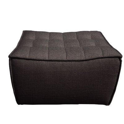 Ethnicraft N701 Footstool in Dark Grey