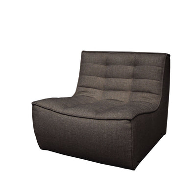 Ethnicraft N701 1 Seater Sofa in Dark Grey