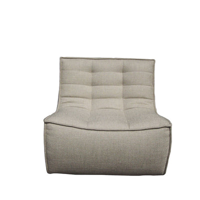 Ethnicraft N701 1 Seater Sofa in Dark Beige