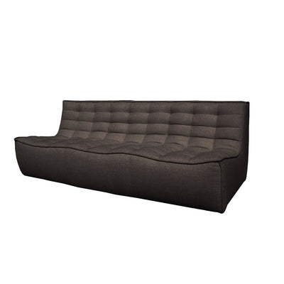 Ethnicraft N701 3 Seater Sofa in Dark Grey