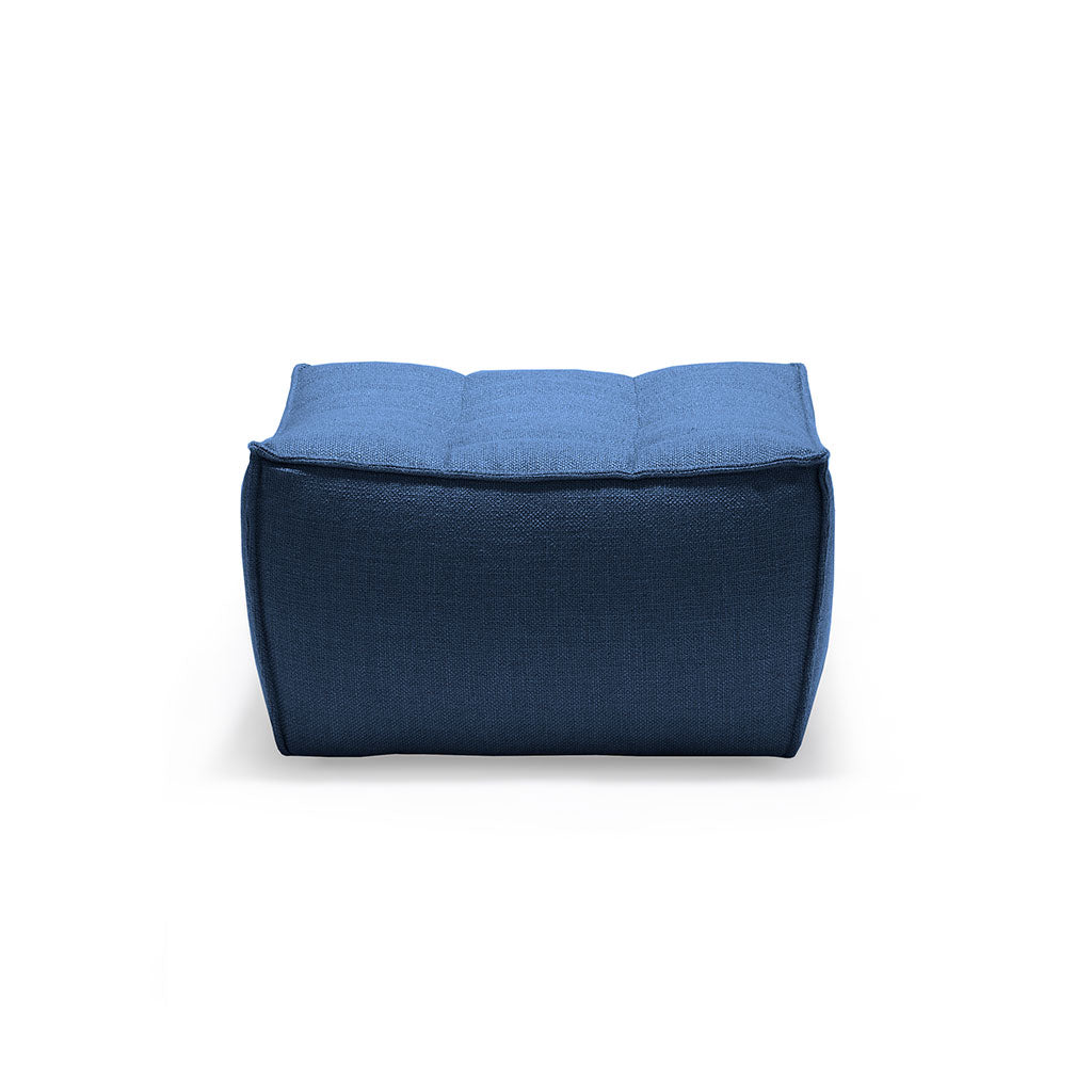 Ethnicraft N701 Footstool in Blue