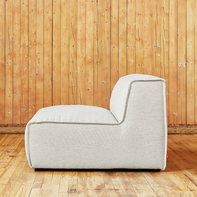 Nexus Modular Armless Chair in Thea Moonstone