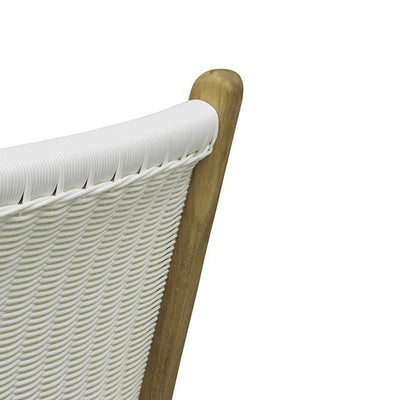Noosa Open Dining Chair in White Weave