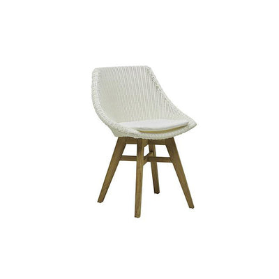 Noosa Dining Chair in White Weave