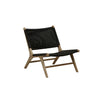 Noosa Open Occasional Chair in Black