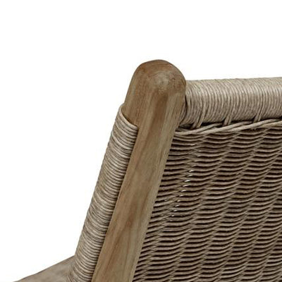 Noosa Open Occasional Chair in Mushroom