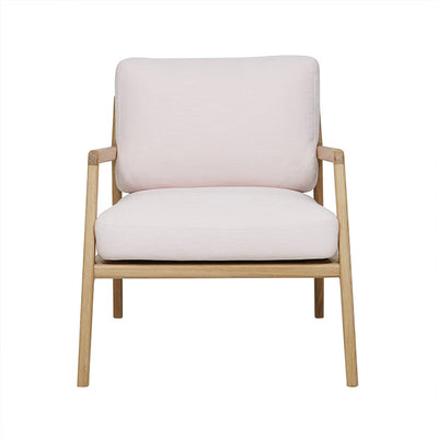 Sketch Nysse Chair - Light Pink/Oak