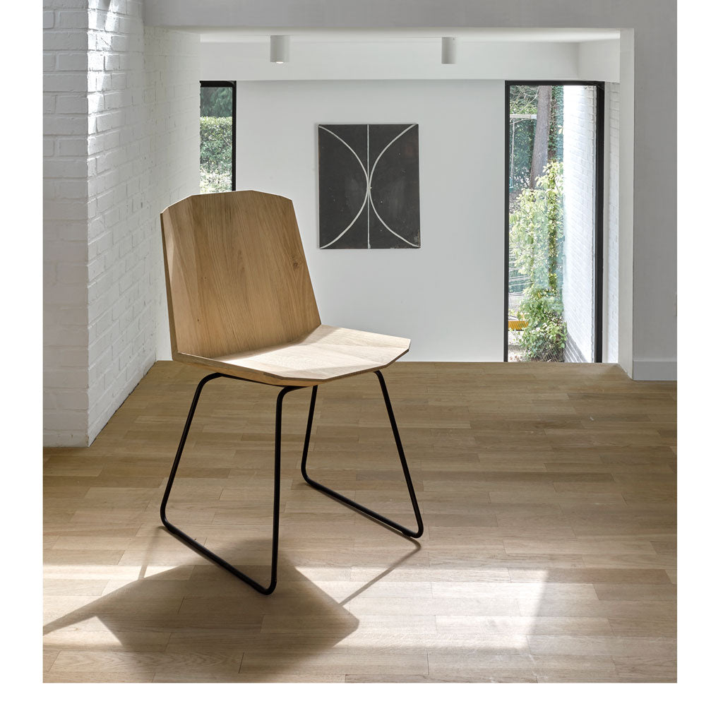 Oak Facette Chair