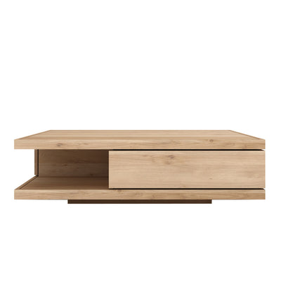 Oak Flat Coffee Table - Rectangular