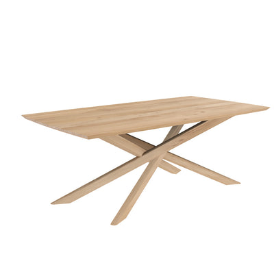 Ethnicraft Oak Mikado Dining Table 2030 x 1060 x 760cm