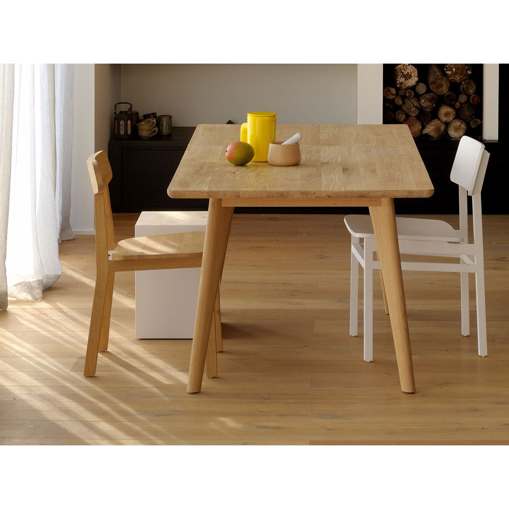 Ethnicraft Oak Osso Extendable Dining Table Furniture