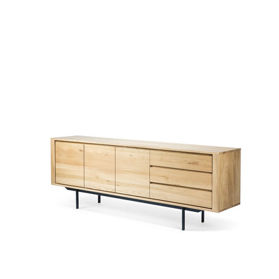 Ethnicraft Oak Shadow Sideboard 3 Doors 3 Drawers