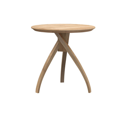 Ethnicraft Oak Twist Side Table - Large