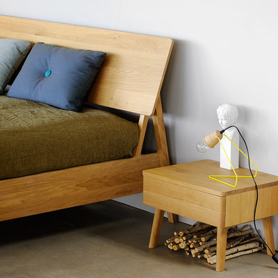 Oak Air Bedside Table