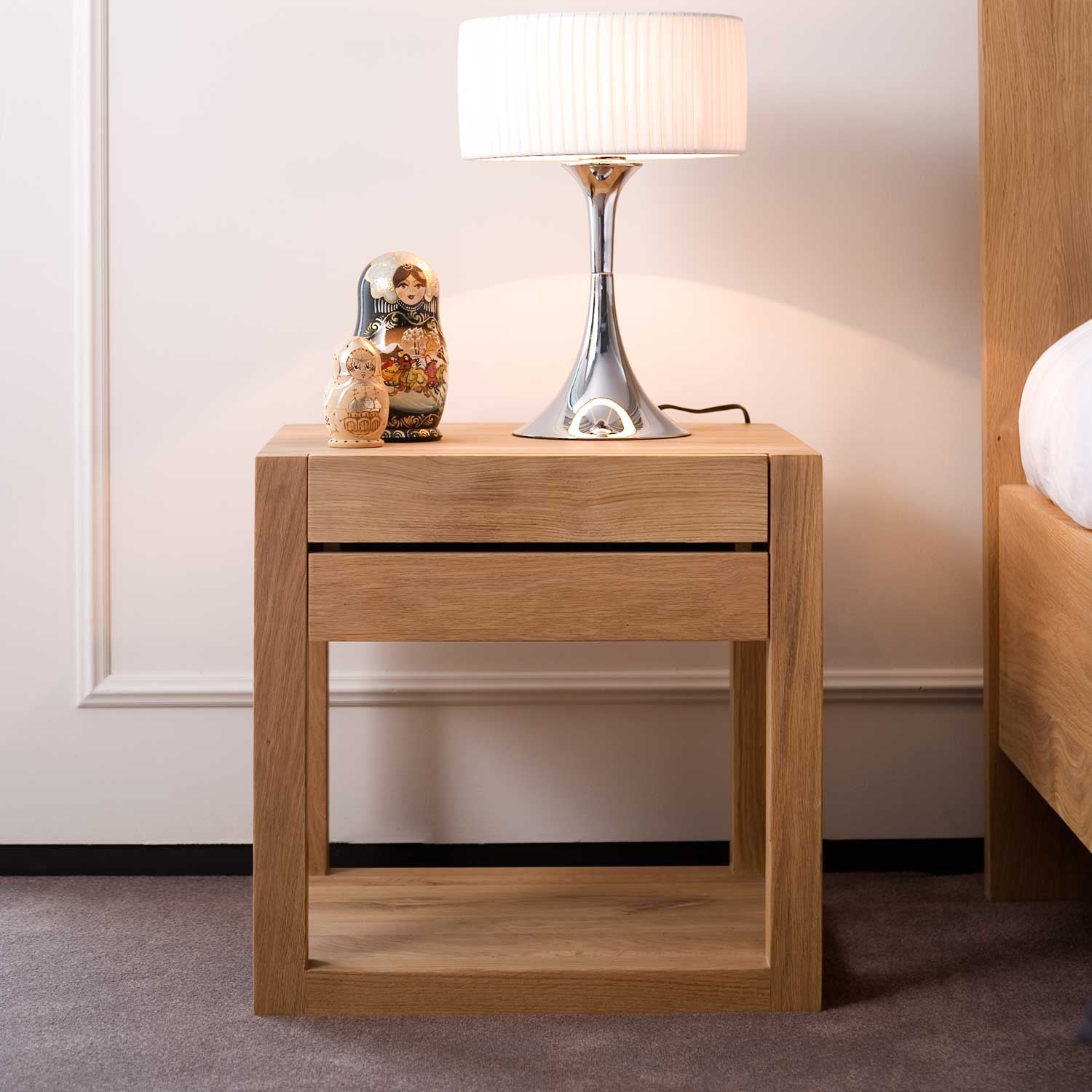 Oak Azur Bedside Table