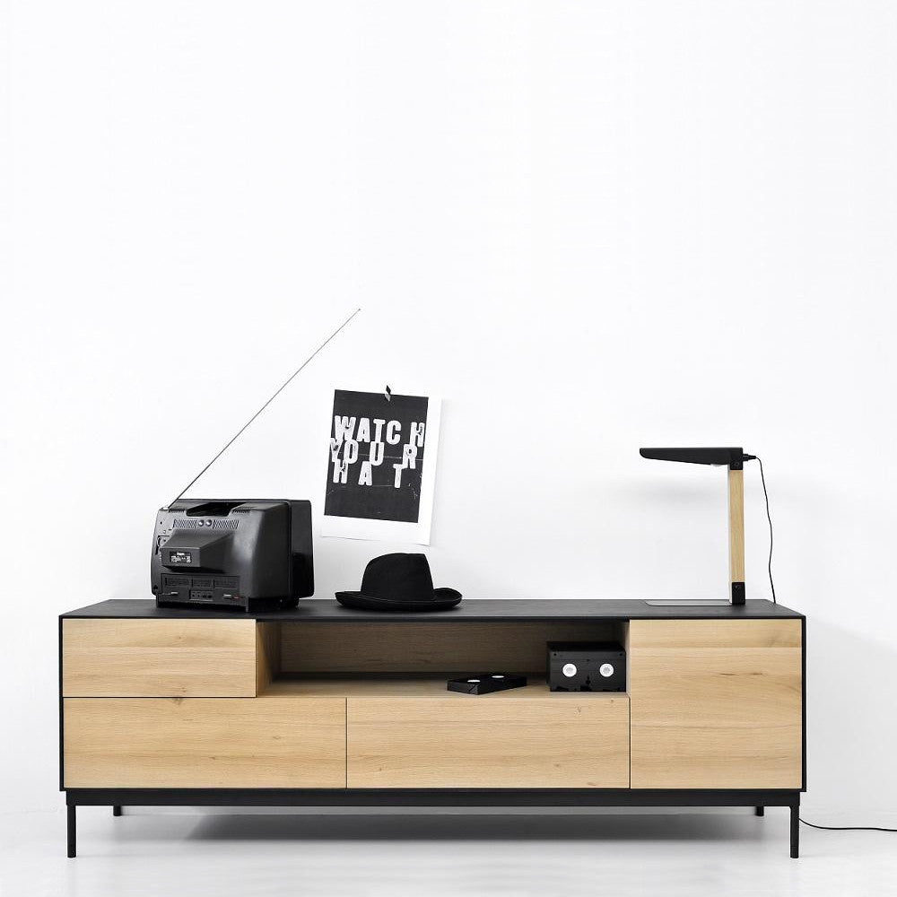 Oak Blackbird Entertainment Unit