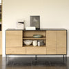 Oak Blackbird Open Sideboard