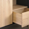 Oak Blackbird Storage Cupboard