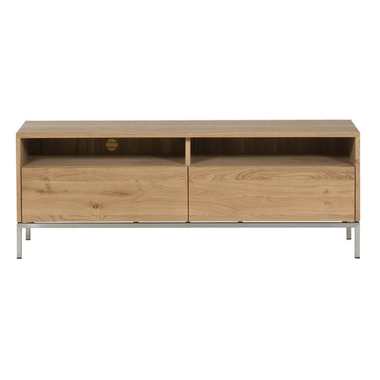 Oak Ligna Entertainment Unit 140cm