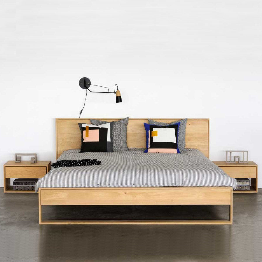 Oak Nordic II Bed - King Size