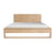 Oak Nordic II Bed - Queen Size