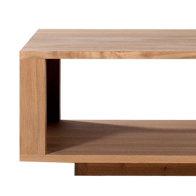 Oak Shadow Square Coffee Table