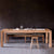 Ethnicraft Oak Slice Extending Dining Table