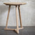 Oak Tripod Side Table