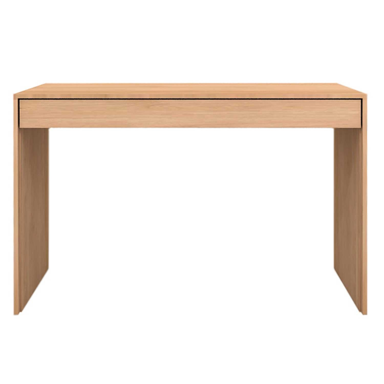 Oak Wave Office Console