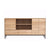 Oak Whitebird Open Sideboard