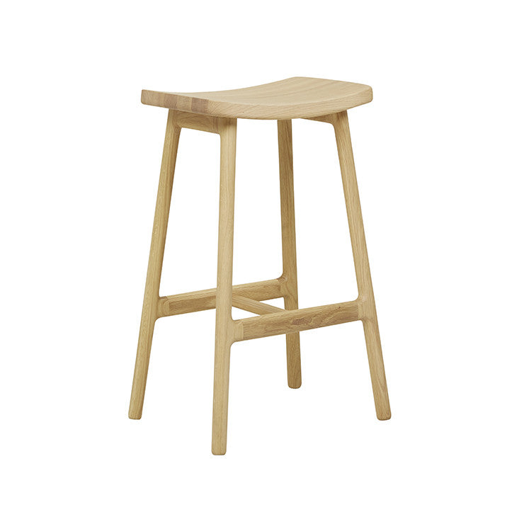 Odd Barstool Light Oak