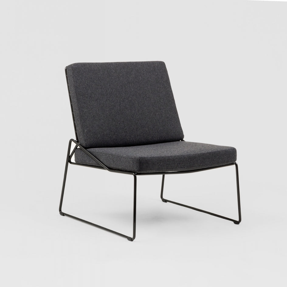 Middle of Nowhere Onli Chair in Grey/Black