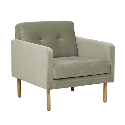 Orphan 1 Seater Sofa in Moss Green
