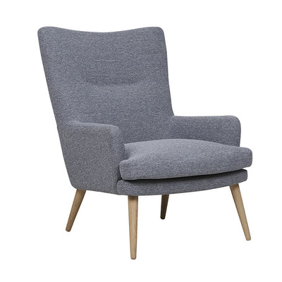 Pelagonia Sofa Chair in Blue Grey