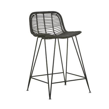 Plantation Bells Barstool - Black