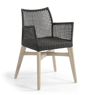 Rodini Arm Chair in Dark Grey