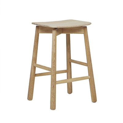 Root Barstool in Light Oak